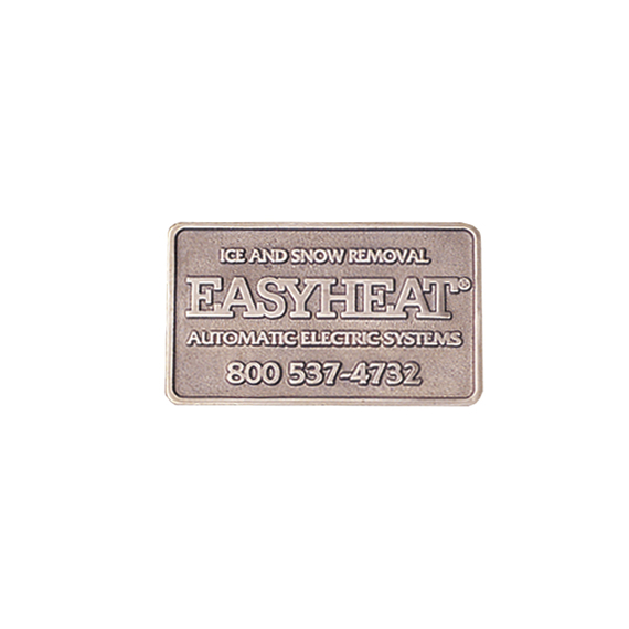 EasyHeat™ NMPLT Snow Melting Nameplate