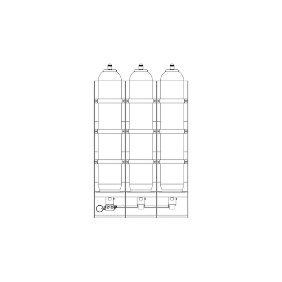 damcos accumulator rack