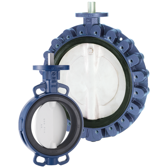 OptiSeal Figure 14 - 17 Butterfly Valves