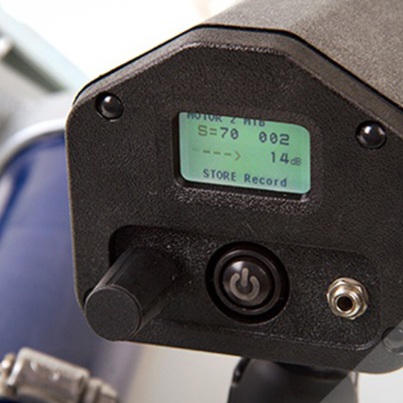 The Ultraprobe 401 Digital Grease Caddy provides all the data you'll need to optimize your lubrication program.