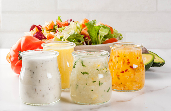 Soups, Salads, Sauces, Condiments, Snacks, and Noodles all share a variety of notable attributes.
